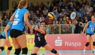 Will sich auch in Münster in jeden Ball werfen: VCW-Libera Alyssa Longo  Foto: Detlef Gottwald