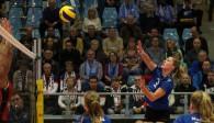Volleyball-Team Hamburg mit Niederlage vor großer Kulisse in der CU Arena  Foto: VTH/Lehmann
