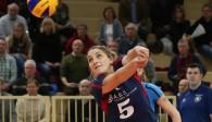 VCW-Libera Alyssa Longo ist drittbeste Annahmespielerin der Liga Foto: Detlef Gottwald