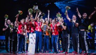 Der Allianz MTV Stuttgart gehört nach dem Supercup-Sieg mit zu den Meisterschaftsfavoriten  Foto: Sebastian Wells (www.sebastianwells.de)