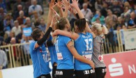 Das Team gewinnt: VCW erkämpft sich Auswärtssieg in Vilsbiburg  Foto: Detlef Gottwald
