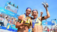 Den letzten Titel der Saison holten sich (natürlich) Kira Walkenhorst und Laura Ludwig Foto: FiVB