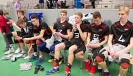 Betretene Gesichter: Die DVV-Auswahl hat nicht nur das Spiel gegen Italien verloren, sondern auch die Qualifikation zur U19-EM-Endrunde verpasst Foto: Günter Kram
