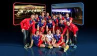 Mit alten Bekannten, neuen Gesichtern und drei Vize-Europameistern starten die United Volleys in ihre dritte Erstliga-Saison Foto: United Volleys/Manfred Neumann