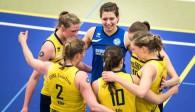 Will sich gegen Borken für die Hinspielniederlage revanchieren: Das Volleyballteam DSHS SnowTrex Köln  Foto: Martin Miseré