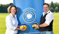 Katharina Keil und Michael Kirchner von Sports&Travel organisieren Reisen für die VBL  Foto: Edward Wypchlo, www.mowy.de