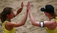 Chantal Laboureur und Julia Sude sind in Baden am Start. Foto: FiVB