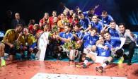Der Allianz MTV Stuttgart und der VfB Friedrichshafen gehen in Hannover als Titelverteidiger an den Start  Foto: Eckhard Herfet