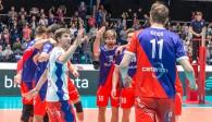 Mit komplettem Kader treten die United Volleys am Mittwoch im Europapokal in Montpellier an Foto: United Volleys/Manfred Neumann