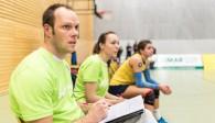 Verlassen das DSHS SnowTrex Köln-Team schweren Herzens: Die beiden Co-Trainer Katrin Kemper und Sebastian Schröder Foto: Martin Miseré