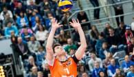 Zuspieler Tsimafei Zhukouski hinterließ gegen Moskau einen starken Eindruck  Foto: Nils Wüchner, niels-wuechner.de