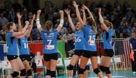 Mit starker-Teamleistung ins Viertelfinale: Der VCW ist in der nächsten Europapokal-Runde Foto: Detlef Gottwald
