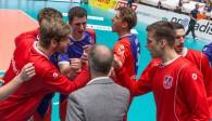 Mit einer geschlossenen Mannschaftsleistung sicherten die United Volleys gegen Solingen den Einzug ins Pokal-Halbfinale Foto: United Volleys/Manfred Neumann