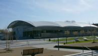 Julius…: Die neue Julius-Hirsch-Sporthalle soll mit dem Volleyball Bayernpokal eröffnet  Foto: Stefan Fürst