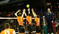 Im Volleyballtempel ist alles möglich Foto: Eckhard Herfet