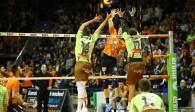 BR Volleys beißen sich zum erfolgreichen Heimauftakt Foto: Eckhard Herfet