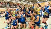 Freut sich auf die kommende Saison: Das Meisterteam DSHS SnowTrex Köln  Foto: Martin Miseré