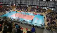 Endlich wieder Volleyball in Wiesbaden: Der VCW startet am Samstag in der Sporthalle am Platz der Deutschen Einheit in die neue Bundesliga-Saison  Foto: Detlef Gottwald