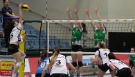 Das Volleyball-Team Hamburg verliert gegen den USC Münster II Foto: VTH/Lehmann