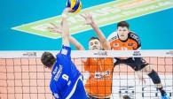 Aleksandar Okolic (im Block gegen Georg Klein) will bei EM und Supercup erfolgreich sein Foto: Sebastian Wells, sebastianwells.de