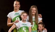 Von klein bis groß – ausgezeichnete Jugendarbeit! (Quelle: proWIN Volleys TV Holz, Fotograf: Peter Kerkrath