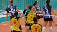 Auch in der Spielzeit 2017/18 will Suhl in der 1. Volleyball Bundesliga jubeln  Foto: Stephan Roßteuscher