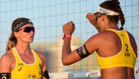 Beachvolleyball-Nationalteam Holtwick/Semmler Foto: FiVB