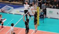 TV Rottenburg verliert bei Netzhoppers und muss in die Playdown-Runde Foto: Moritz Liss