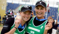 Beachvolleyball-Nationalduo Holtwick/Semmler Dritter beim Grand Slam Foto: FiVB