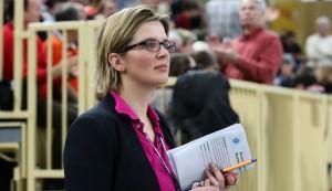 VCW-Geschäftsführerin Nicole Fetting blickt