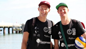Das #RoteRudel TC Hameln, Philipp Arne Bergmann und Yannick Harms