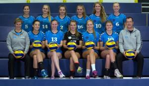 Will um Punkte und den Pokal kämpfen: Die zweite Mannschaft des VC Wiesbaden.