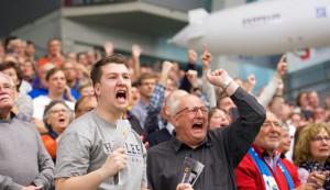 Die Fans haben großen Anteil am Häfler Erfolg