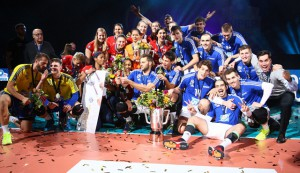 Der Allianz MTV Stuttgart und der VfB Friedrichshafen gehen in Hannover als Titelverteidiger an den Start