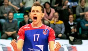 Auch in der nächsten Saison Denker, Lenker und engagierter Antreiber bei den United Volleys: Nationalspieler Jan Zimmermann